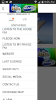 Screenshot of The House FM / My Praise FM