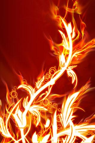 3D Flame Live Wallpaper - screenshot