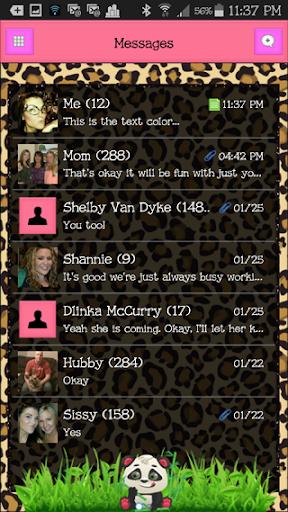 GO SMS THEME - EQ17