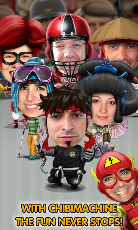 ChibiMachine - Avatar creator- screenshot