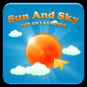 Sun And Sky GO launcher theme logo