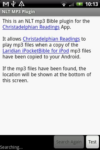 NLT MP3 Plugin - screenshot