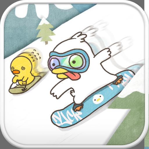 Duck ski go locker theme