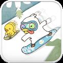 Duck ski go locker theme icon