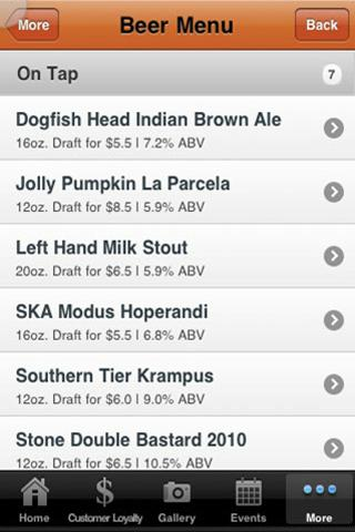 Kinderhook Tap - screenshot