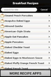 Breakfast Recipes Cookbook - screenshot thumbnail