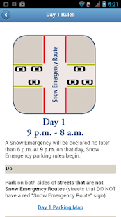 Mpls Snow Emergency Rules- screenshot thumbnail