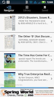 Disaster Recovery Journal - screenshot thumbnail