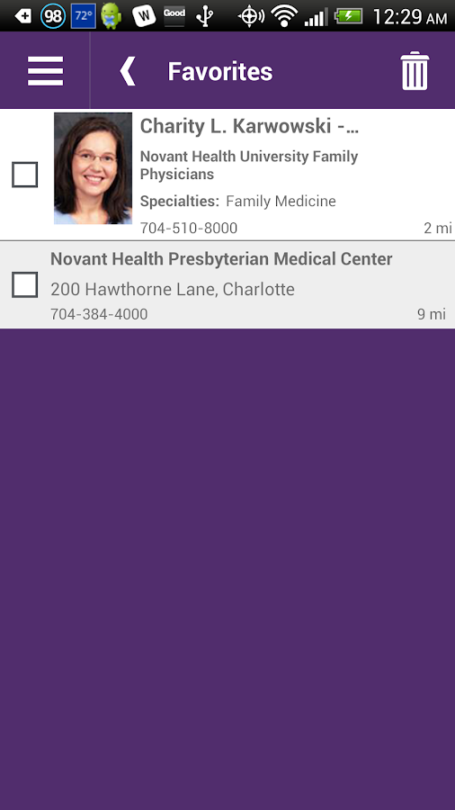 Novant Health- screenshot