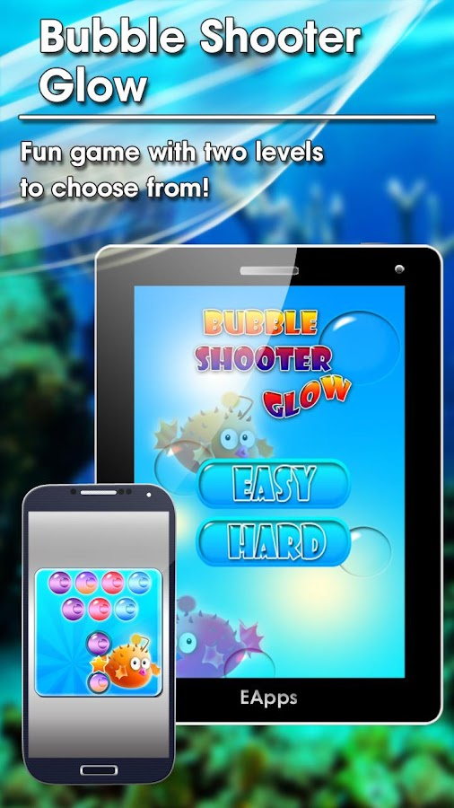 Bubble Shooter Glow - screenshot