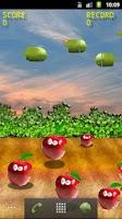 Screenshot of Bombs On Apples Free LWP