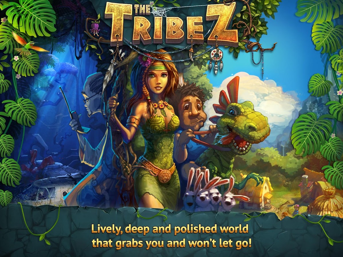 The Tribez v1.3.1 APK + DATA (Unlimited Money & Crystall)