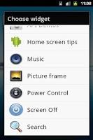 Screenshot of Turn Screen Off