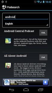 Podsearch - screenshot thumbnail