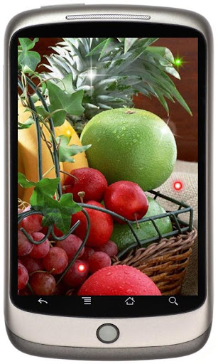 Fresh Fruits live wallpaper