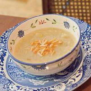 Cauliflower Soup with Brown Butter.