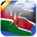 3D Kenya Flag Live Wallpaper icon