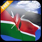 3D Kenya Flag Live Wallpaper icon