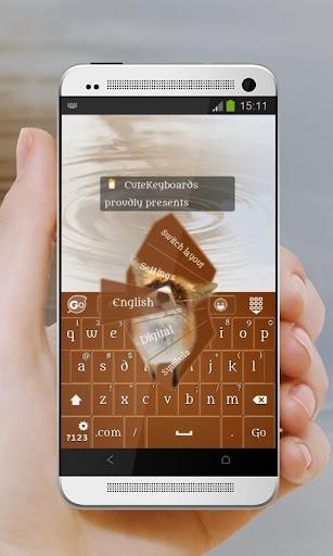 好奇的狐狸 GO Keyboard Theme 個人化 App-愛順發玩APP