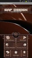 Screenshot of ADWTheme Chocolate