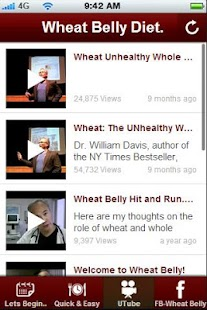 Wheat Belly Diet Tips.- screenshot thumbnail