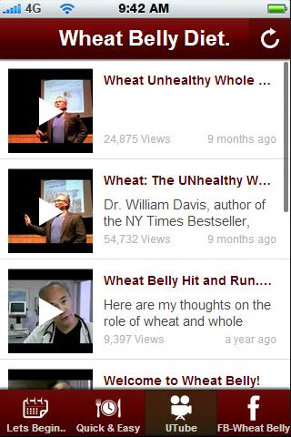 Wheat Belly Diet Tips. - screenshot
