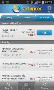 Surfpricer: Price comparison screenshot 6