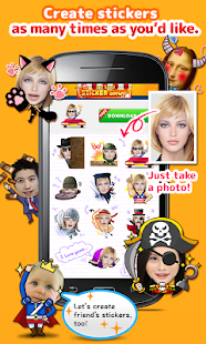 StickerMe Free Selfie Emoji- screenshot thumbnail