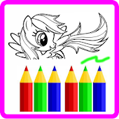 My Pony Coloring Game Free