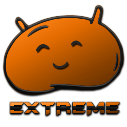 JB Extreme Launch Theme Orange LOGO-APP點子