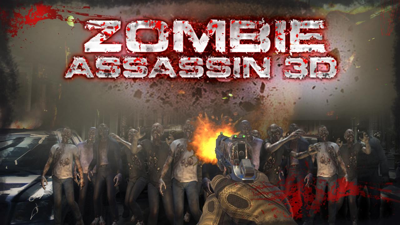 ZOMBIE ASSASSIN 3D- screenshot