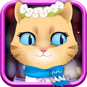 Kitty Dress Up-kids games for PC and MAC