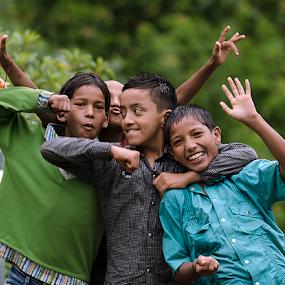 Happiness by Deepak Goswami - Babies & Children Children Candids