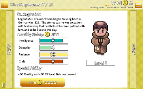 Fiz : Brewery Management Game Screenshot 43