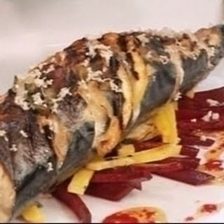 Mackerel with Beetroot and Horseradish Relish Recipe