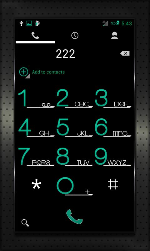 CYAN HEAVY CM AOKP THEME - screenshot