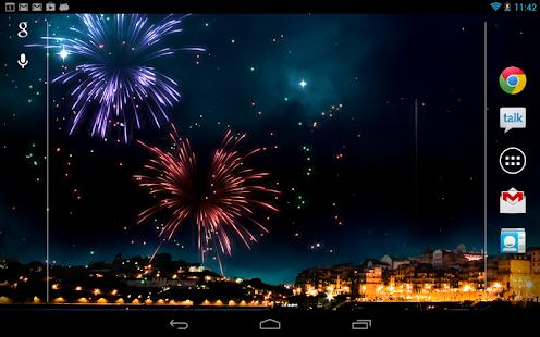 KF Fireworks Free L. Wallpaper