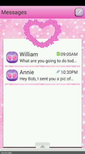 FlowerGenie GO SMS THEME