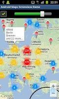 Screenshot of Maps Extensions Demo