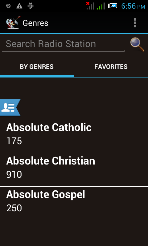 Ultimate Christian Radios - screenshot