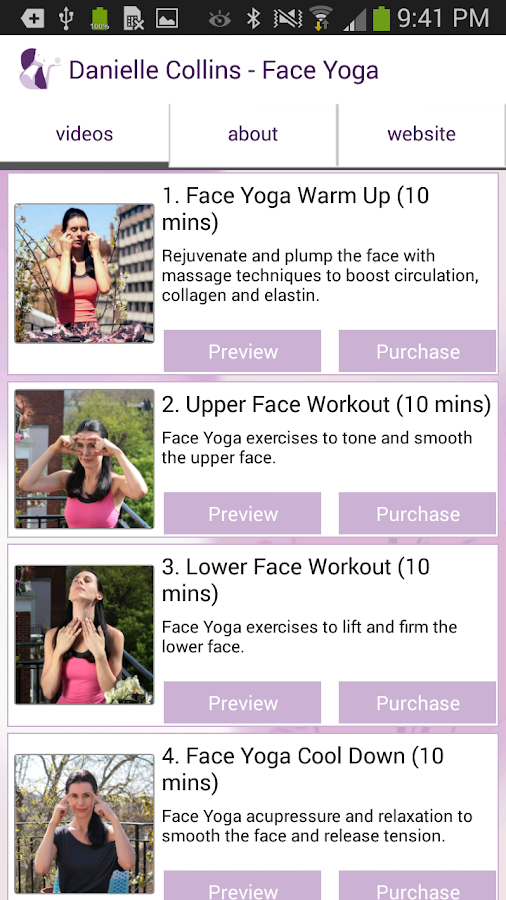 Face Yoga- screenshot