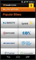 Screenshot of Boost Mobile Wallet