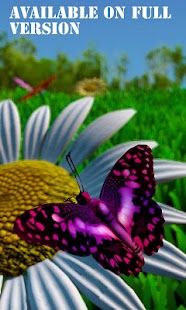 live wallpaper butterfly x - screenshot thumbnail