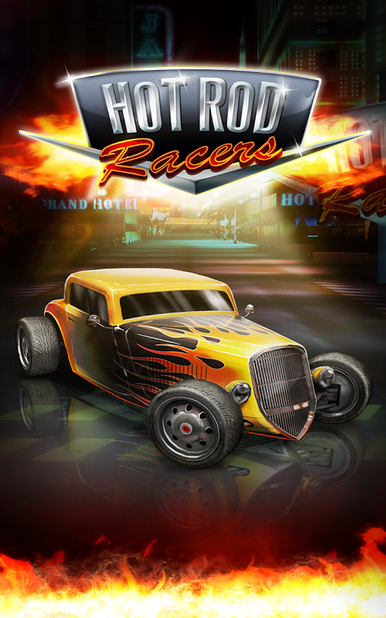 Hot Rod Racers- screenshot