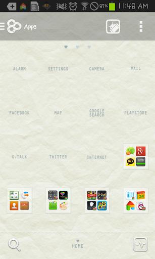 【免費個人化App】Loves me go launcher theme-APP點子
