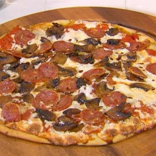 Mushroom and Sausage Pizza Recipe
