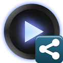 PowerAMP Share Widget icon