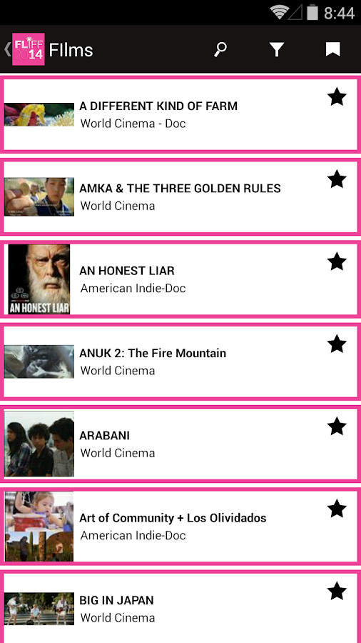 FLIFF 2014- screenshot