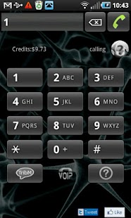 VOIP tablet & phone, call - screenshot thumbnail
