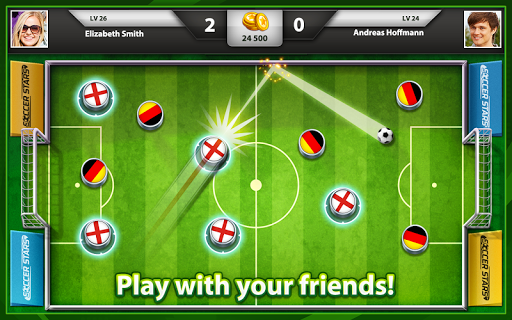 Игра Soccer Stars для планшетов на Android